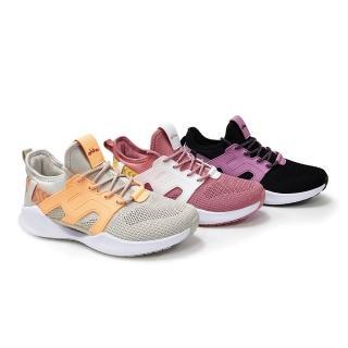 【OHHO】全新抗扭避震飛織休閒鞋(灰)