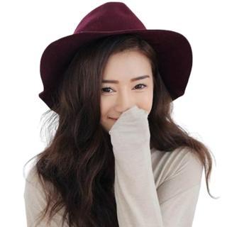 【米蘭精品】爵士帽禮帽(英倫復古氣質情人節生日禮物女帽子67e1)