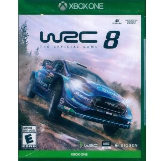 【Microsoft 微軟】XBOX ONE  世界越野冠軍賽 8 中英文美版(WRC 8)