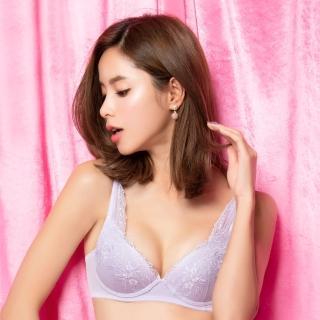 【SAVVY 莎薇】輕粉水 B-D 罩杯增量型內衣-好激升-粉水2UPAB3569PL(紫)