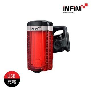 【INFINI】IU 自行車尾燈 I-280R(單車燈、LED自行車燈、警示燈、腳踏車燈)