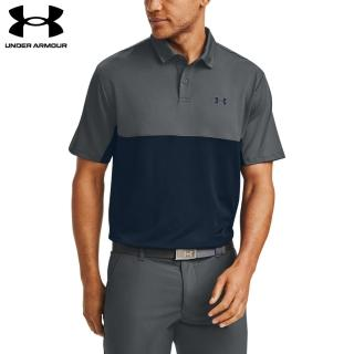 【UNDER ARMOUR】UA 男 Performance 2.0短POLO_1355485-012(黑灰)