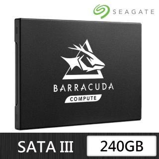 【SEAGATE 希捷】BarraCuda Q1 240G SATA 2.5吋SSD固態硬碟(ZA240CV1A001)