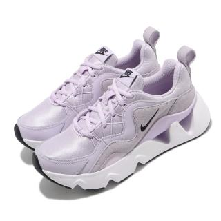 【NIKE 耐吉】休閒鞋 RYZ 365 運動 女鞋 厚底 舒適 明星款 簡約 穿搭 時尚 粉紫 白(BQ4153-500)