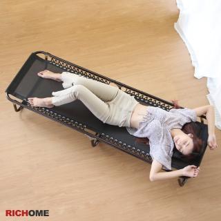 【RICHOME】2折休閒折疊床/行軍床/露營床/輕便床/午睡床/看護床(多功能用途)
