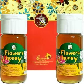 【上吉吉蜂蜜】百花蜂蜜禮盒組-700g(2入)