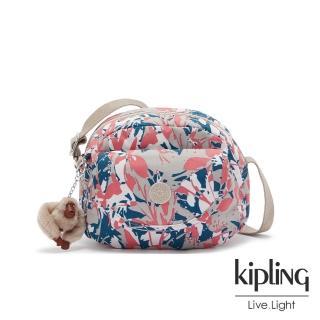 【KIPLING】碰撞魅力潑墨翻蓋側背小包-STELMA/