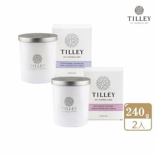 【Tilley 皇家特莉】澳洲原裝微醺大豆香氛蠟燭(任選2入)