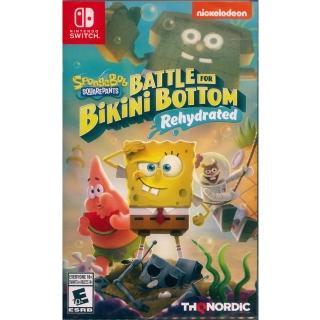 【Nintendo 任天堂】NS Switch 海綿寶寶:為比奇堡而戰 -重新灌水- 中英日文美版(Spongebob Squarepants)