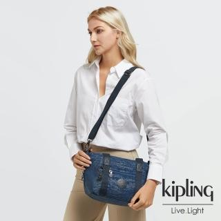 【KIPLING】高冷月蝕藍手提側背包-ART MINI