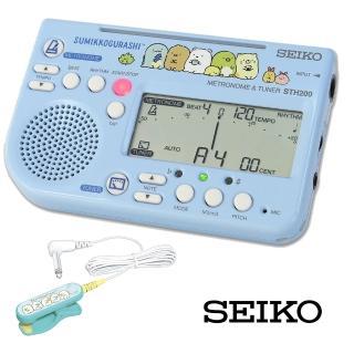 【SEIKO 精工】STH200SGL│角落生物聯名款調音器、節拍器|附調音夾(限量款)