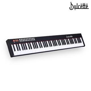 【Dulcette】61鍵標準厚鍵電子鋼琴(#1美國亞馬遜暢銷Dulcette