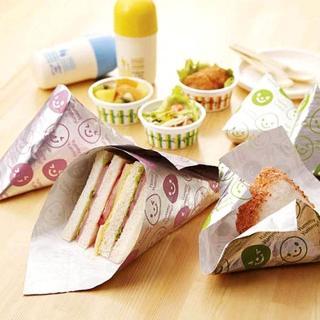 【HANDS 台隆手創館】微笑造型飯糰包裝紙