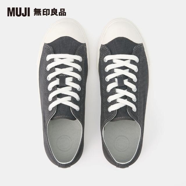 【MUJI 無印良品】撥水加工有機棉舒適休閒鞋(共4色)