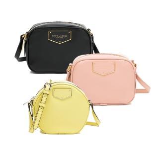 【MARC JACOBS 馬克賈伯】品牌經典熱銷 馬鞍包、方包、圓餅包、兩用包(多款任選)