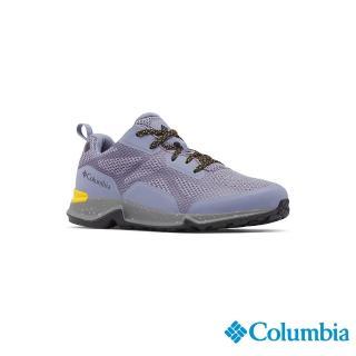 【Columbia 哥倫比亞】女款- Outdry 防水健走鞋-紫色(UBL00770PL / 越野.運動.靴子)
