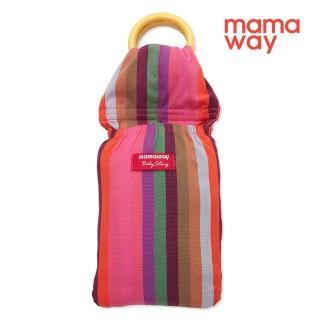 【mamaway 媽媽餵】彩虹蠟筆育兒哺乳背巾