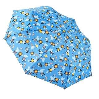 【rainstory】眼球戰士-藍抗UV加大自動傘