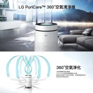 【LG 樂金】LG PuriCare 360°空氣清淨機 單層(AS601DPT0)