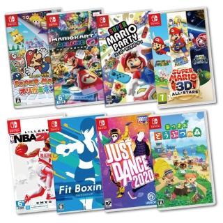 【Nintendo 任天堂】原廠遊戲片任選限時優惠下殺區(中文一般版)