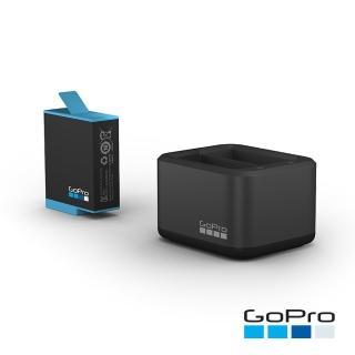 【GoPro】HERO9 Black專用雙電池充電器+電池(ADDBD-001-AS)