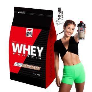 【RED COW 紅牛】聰勁即溶乳清蛋白-可可風味(3公斤)