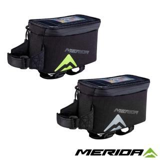 【MERIDA 美利達】自行車手機上管袋 兩色(車包/坐墊/包袋/收納/置物/環島/單車)