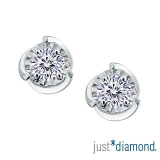【Just Diamond】Dreamy系列 18K金鑽石耳環