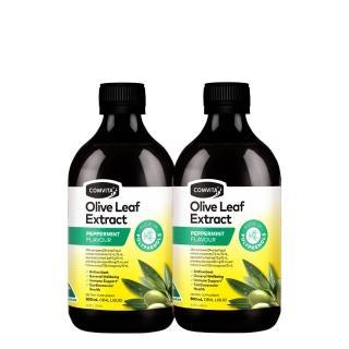 【Comvita 康維他】橄欖葉萃取精華液-薄荷2入組