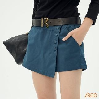 【iROO】素面經典設計短褲