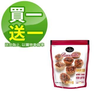 【即期品 西班牙Valentina買一送一】麵包脆餅番茄口味150g(最佳賞味2021/04/28)