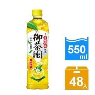 【御茶園】特撰冰釀綠茶-微甜550ml 24入x2箱(共48入)