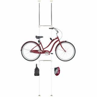 【巴塞隆納】BY-01-01頂天立地自行車架 立車架 單車架 腳踏車架防刮(可掛1台單車)
