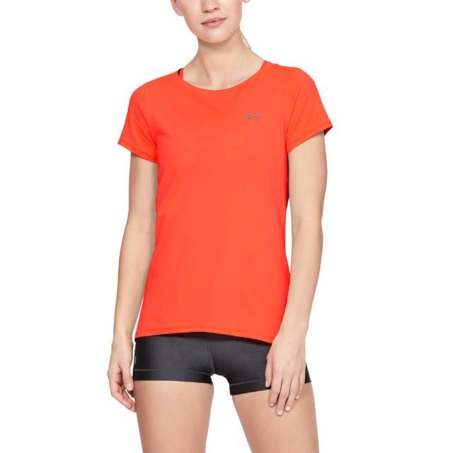 【UNDER ARMOUR】UA 女 HG Armour 短T-Shirt_1328964(三色任選)