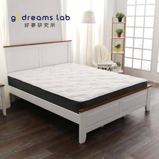 【TRONlife好床生活】民宿超耐用獨立筒床G01_單人3尺(AG+銀纖抗菌表布)/