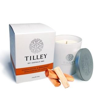 【Tilley 百年特莉】檀香香氛大豆蠟燭(240g)