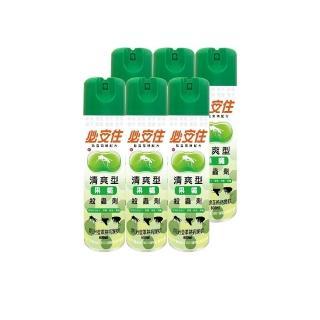 【必安住】清爽型殺蟲劑600ml(6罐)