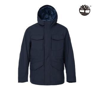 【Timberland】男款深寶石藍保暖防水三合一外套(A2EQV433)