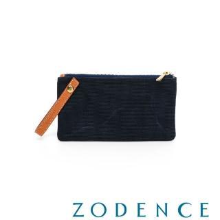 【ZODENCE 佐登司】DION德國帆布手拿隨身袋(多瑙藍)