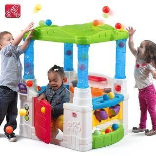 【STEP2】歡樂球屋(小孩專屬可愛球池小屋)