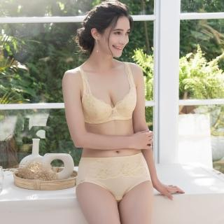【Lavieaisee 金華歌爾】寵愛 M-3L 中高腰三角褲 IS3234Y2(黃)