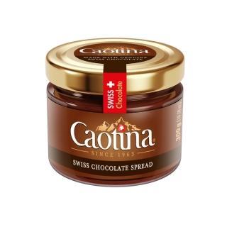 【瑞士可提娜 買一送一】Caotina頂級瑞士巧克力醬300g(有效日期2021/ 10/ 21)