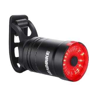 智能感應式自行車尾燈 USB充電警示尾燈 公路車騎行燈 兩款可選