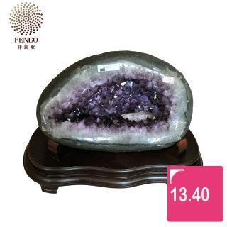 【菲鈮歐】開運招財天然烏拉圭紫晶洞   13.4kg 39