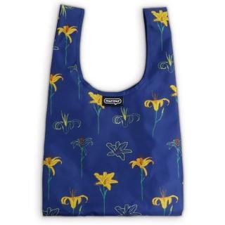 【murmur】金針花(購物袋.環保袋.可收納.便當包)