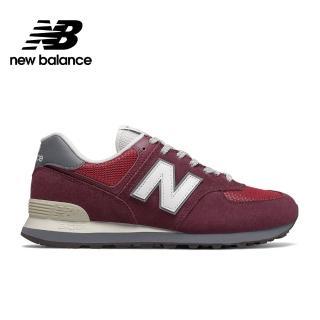 【NEW BALANCE】NB 復古運動鞋_男鞋_酒紅_ML574ERL-D楦