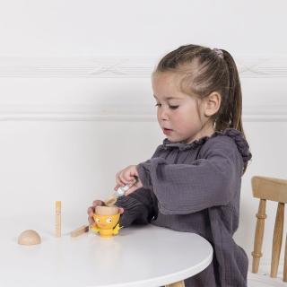 【LE TOY VAN】角色扮演系列-英式經典蛋杯木質玩具組(TV315)