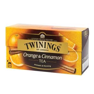 【Twinings 唐寧茶】茶包2gx25包x1盒(四紅果茶/沁心薄荷/香甜蜜桃/香橙肉桂/異國香蘋)