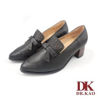【DK 高博士】優雅蝴蝶結設計氣墊女鞋 71-9027-90黑色