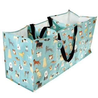 【英國 Rex London】玩具/衣物多功能防水環保收納袋/萬用袋_萌狗樂園(RL29050)